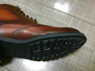 复古手工擦色皮靴
