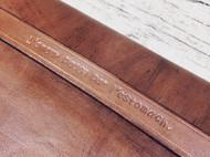 手工植鞣革笔记本皮套