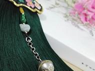 【福禄挂】手工刺绣流苏,老银铃铛