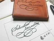 花体字卡包
