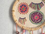 「贩卖的fusu」刺绣 房间挂饰