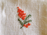 刺绣手帕/茶巾