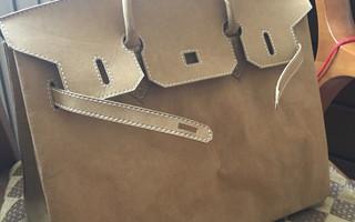 练习课:铂金包模型(纸质Birkin)图解制作教程
