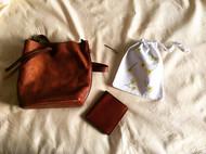 刺绣束口袋