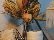绳仙儿礼物圣诞树造型macrame手工编织挂毯