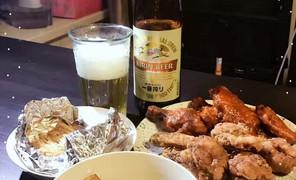 圣诞节和炸鸡啤酒很配哦,晚饭做
