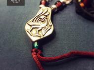 汉风朱雀艺术项链。