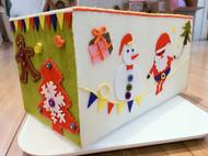 装满圣诞的盒子
