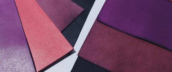 植鞣革紫草染色