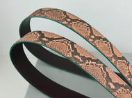 蟒蛇皮肩带