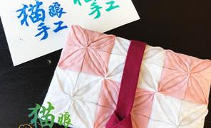 韩式拼布卡袋,传统的倒两针,教