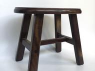 手工实木黑檀矮凳