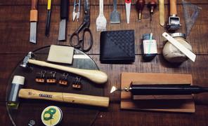 #手工皮具#一个短夹的诞生