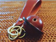 皮铃铛钥匙环