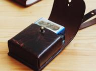 复古植鞣烟盒