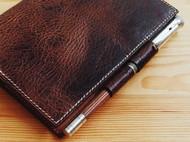 复古植鞣笔记本套