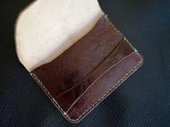 复古 头层牛皮植鞣卡包 零钱包