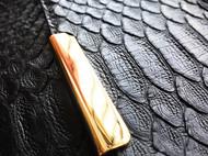 黑色蟒蛇皮小方包