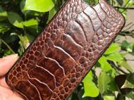 鸵鸟脚皮手机壳