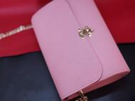 浅粉色TOGO皮小挎包