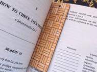 【可售】寄木细工书签来了~
