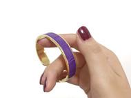 紫罗兰尼罗鳄手环