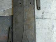 自主设计,制作的手工刀一把