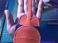 橘猫钥匙包