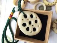象牙果平安扣,藕片,小圆片,小蘑菇,大贝壳,大脚丫