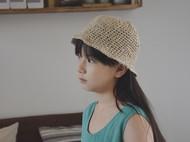 如初ruchu纯手工钩织日本和纸&柞蚕丝帽