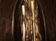 「茶桌上的器物们」金工手作竹节黄铜茶匙茶拨 不锈钢茶匙茶拨