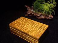 小叶桢楠枯木料明式苏工工文盒