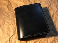 意呆利马缰黑色竖款钱包