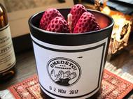 草莓香薰蜡烛杯