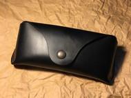 意大利Buttero黑色植鞣革 雷朋墨镜盒