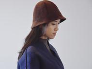羊羔毛棉混纺渔夫帽