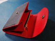 皮具|超醒目的羊皮零钱包