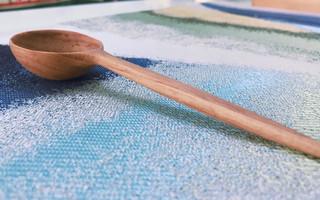 入坑的第一个木勺作品