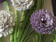 紫色系的花卉衍纸作品~