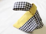 日系简约帆布手腕袋手提袋原创