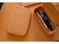 A6拉链手帐皮/笔盒/扇形小包