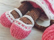 棒针编织玩偶