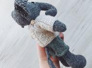纯手工编织小象