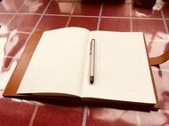牛皮真皮笔记本