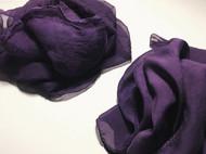 紫草染丝巾