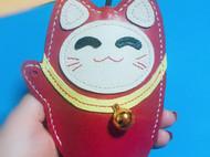 招财猫钥匙包