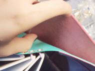 钱夹笔记本
