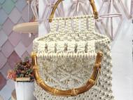 竹节手挽包