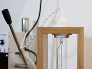 木酒盒改造小台灯2