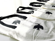 new totebag flying bird
